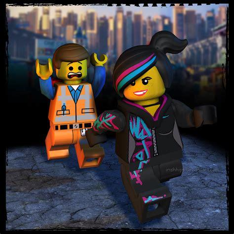 The Lego Movie Emmet And Wyldstyle By Irishhips On Deviantart