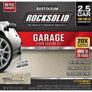 rust oleum rocksolid 152 oz mocha polycuramine 2 5 car
