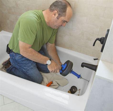 unclog bathtub drain ideas  pinterest