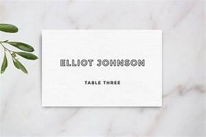 wedding table place card template card templates on With table placement cards templates