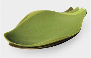 Silicone Leaf Plates - The Green Head