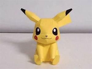 Pokemon – Pikachu 3D Model Papercraft Template; Review