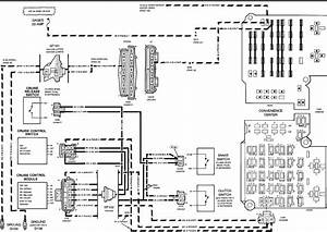 Saturn Cruise Ontrol Schematic