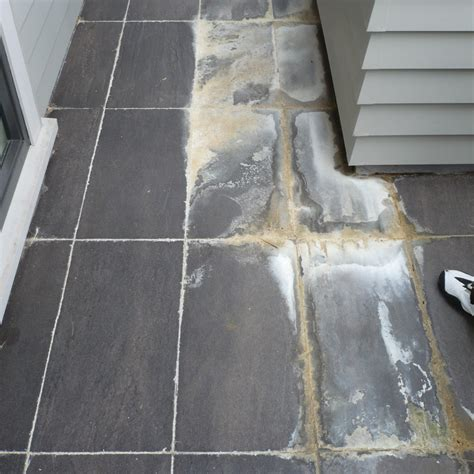 removing grout from marble tile efflorescence efflorescence removal efflorescence