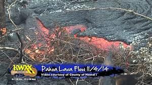 11/4/14 PAHOA LAVA FLOW - YouTube