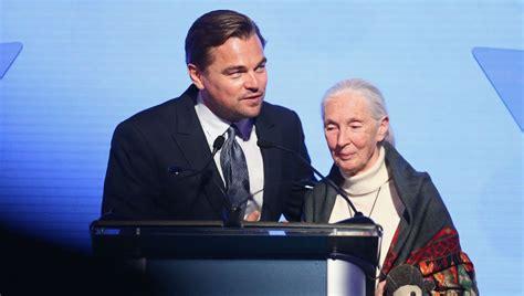 Inside Leonardo DiCaprio's $8M Fundraiser: Jane Goodall ...