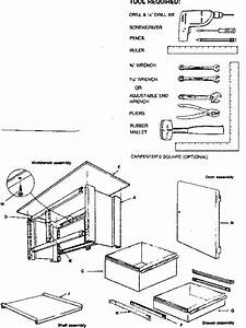 Craftsman Model 10271 Workbench    Project Genuine Parts