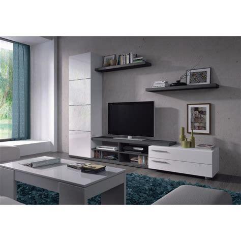 cuisine blanc et deco de salon gris et blanc