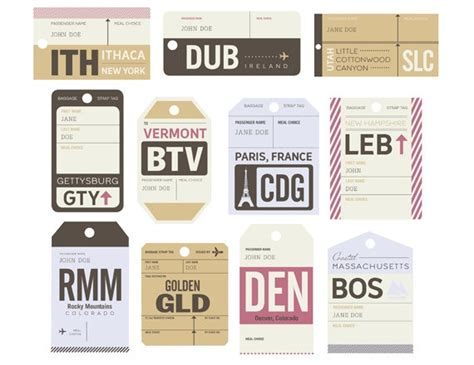 Travel Escort Tag Template by 25 Best Images About Party Things Adventure Awaits On