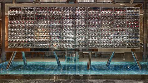 cave a vin dans cuisine restaurant bayview by michel roth le restaurant étoilé