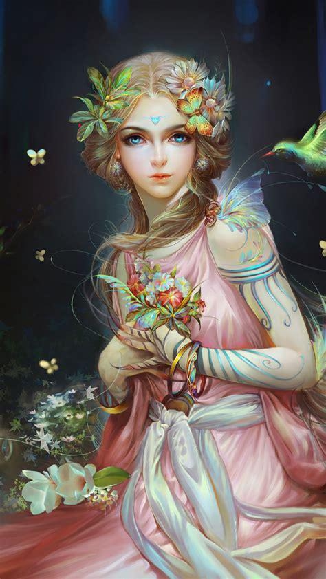 Beautiful Fairy Girl Art