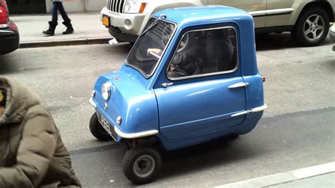 Worlds Smallest Car by Smallest Car The Peel P50