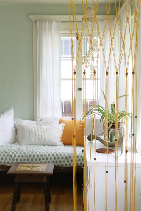 diy patterns  macrame curtains inhabit zone