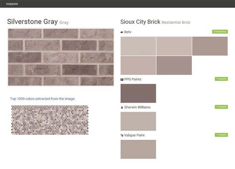 Silverstone Gray Gray Residential Brick Sioux City