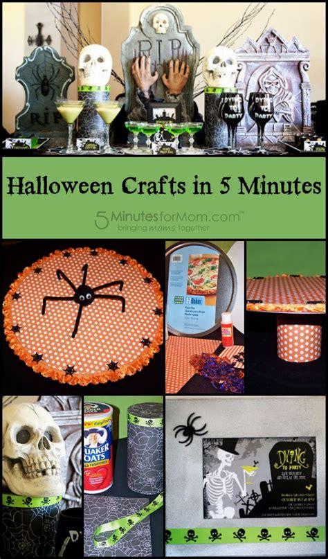 halloween crafts   minutes porch decorating