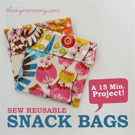 snack bags  pinterest reusable sandwich bags lunch