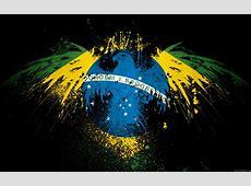 Hintergrundbilder Adler auf BrasilienFlaggenFarben My