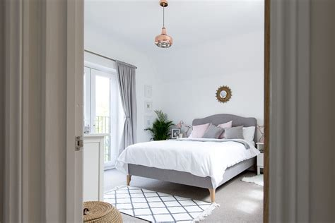 gray and white bedroom grey white blush bedroom