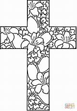 Coloring Easter Religious Pdf sketch template