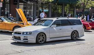 Nissan Skyline R34 : nissan stagea r34 gt r wagon will make you the coolest kid on the block carscoops ~ Maxctalentgroup.com Avis de Voitures