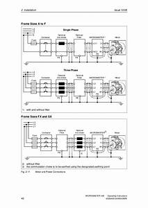 Siemens Micromaster 440 Connection Diagram