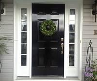 paint front door DIY Lessons Learned: Painting My Front Door Black