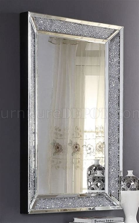 noralie console table wmirror   mirror  acme