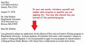 cover letter for applying for master degree - do you need a cover letter for graduate school applications
