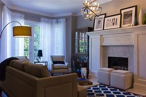 Living room dining room decorating project in chicago for Interior decorating ideas transitional