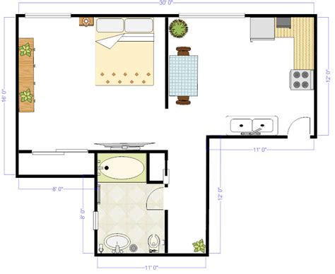 5 Ideas For A One Bedroom Apartment With Study (Includes Floor Plans) : Why Floor Plans Are Important