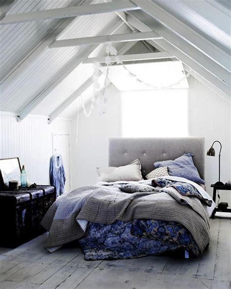 chambre sous toit chambre sous les combles dco du0027une chambre sous pente