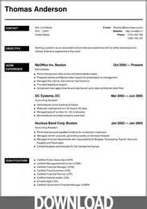 resume sle for cv maker 12 free microsoft office docx resume and cv templates