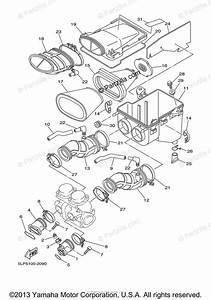 Yamaha Atv 2003 Oem Parts Diagram For Intake