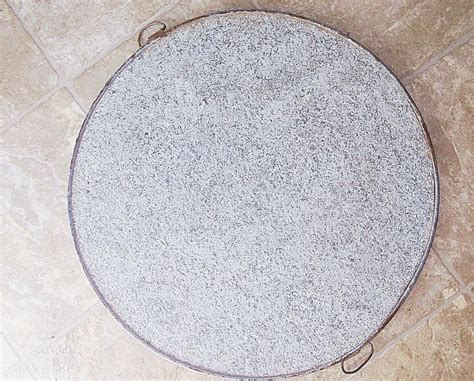 Soapstone Uses by Early 1900s Antique Soapstone Griddle 16 In Dia