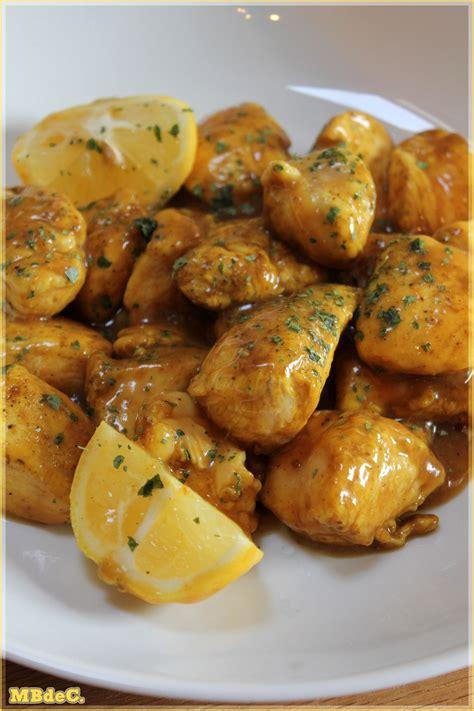 cuisine a base de poulet poulet au citron de sabrina quot mes brouillons de cuisine