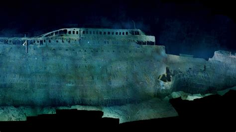 Britannic Sinking In Real Time by First High Resolution Images Of The Wreck Of The Titanic