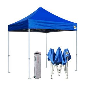 blue  ez pop  canopy commercial outdoor gazebo party beach shelter tent  ebay