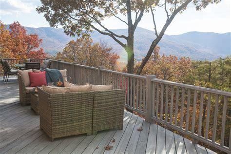 mountain deck redo cedar hill farmhouse