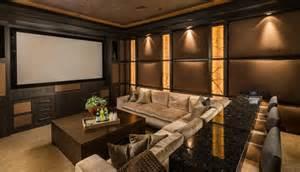 home theatre interiors custom home palm desert indoor outdoor living