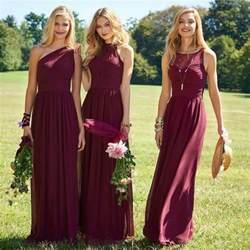 burgundy bridesmaid dresses 100 55 burgundy bridesmaid dresses for fall winter weddings hi miss puff
