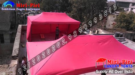 promotional advertising marketing canopy tents stalls kiosk manufacturing company  delhi