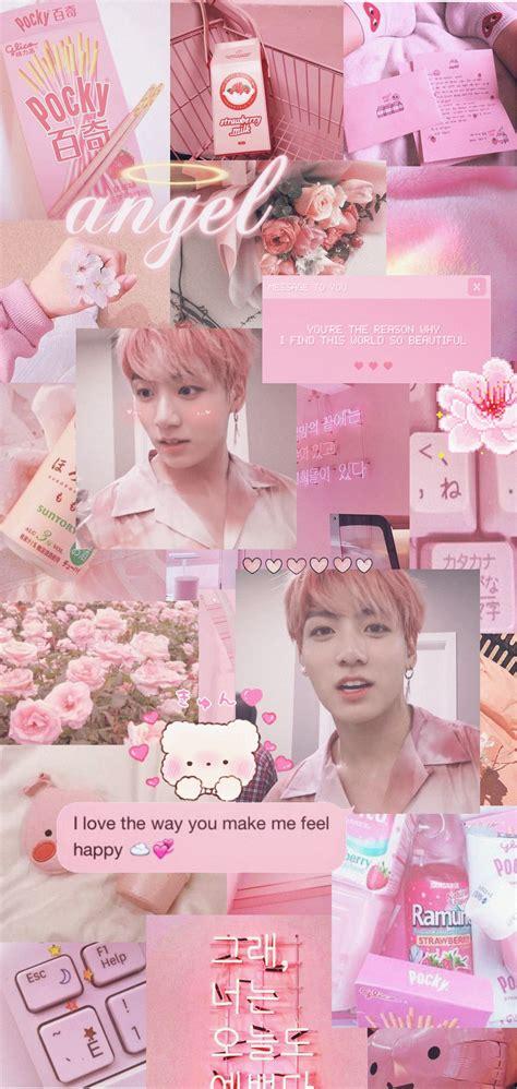 soft pink jungkook wallpaper soft pink aesthetic