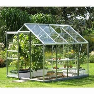 Serre Acier Verre : serre en verre 5000 5 m castorama ~ Premium-room.com Idées de Décoration