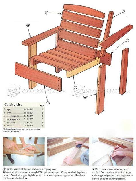 25 best wooden chair plans ideas on