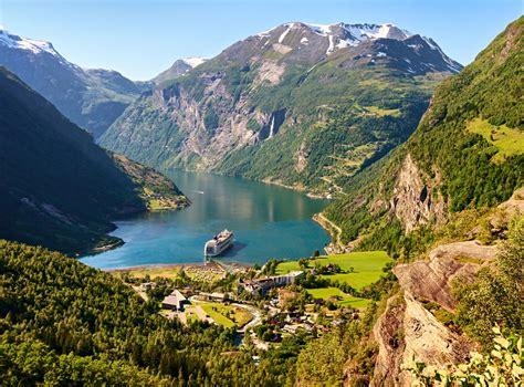 Geiranger Fjord Fjord Norway Britannica