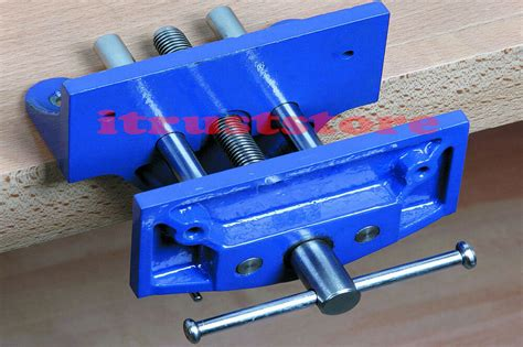 wood working clamping bench clamp vise workbench