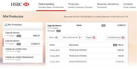 hsbc si鑒e operaciones disponibles gt banking gt personas gt hsbc