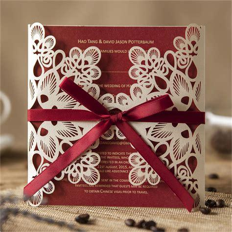 buy luxury laser cut wedding invitations