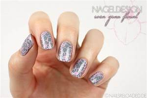 Nageldesign Grau Rosa Nageldesign Grau Rosa Nagel Art 2018
