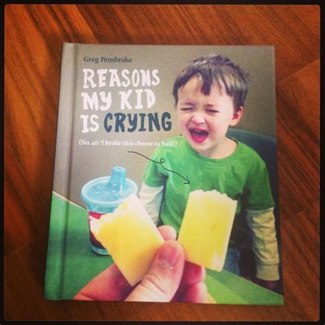 Reasons My Kid Is Crying By Greg Pembroke Review » Frost